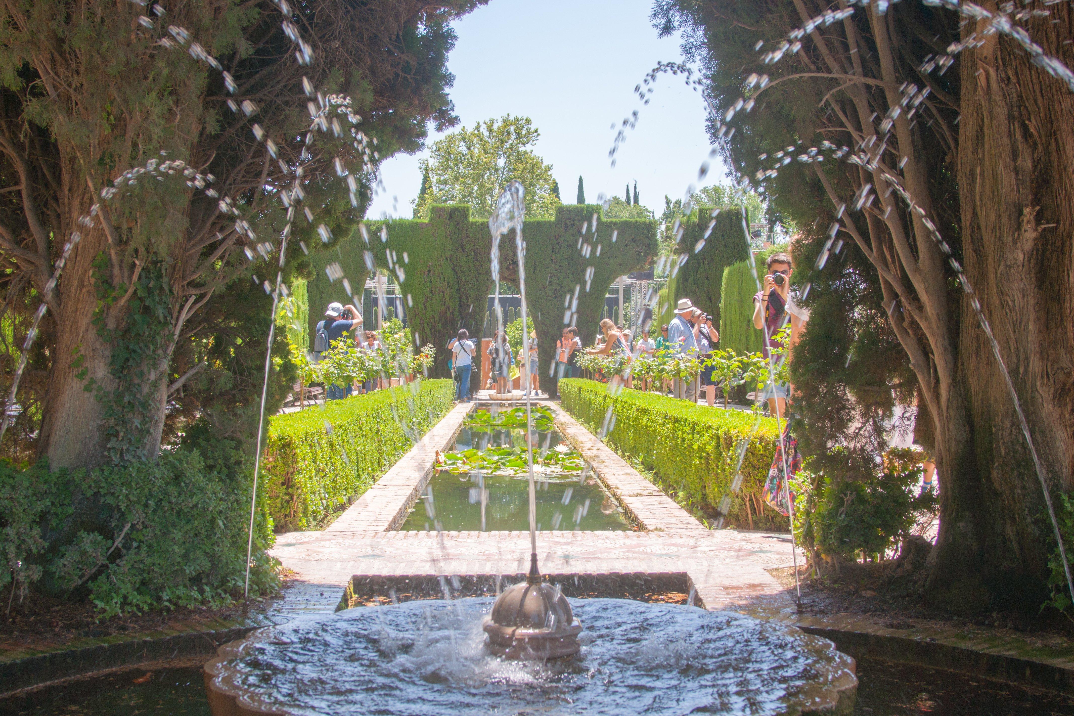 I giardini dell'Alhambra